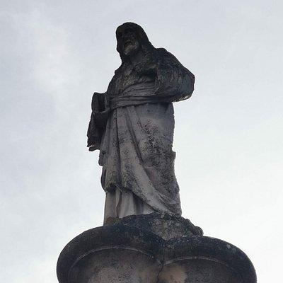 Estatua Del Buen Pastor