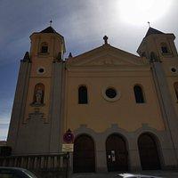 Fachada de la Iglesia de San Lorenzo.