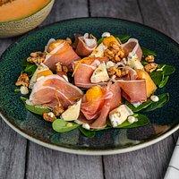 Parma Ham & Cantaloupe Melon