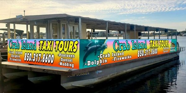 Crab Island Water Taxi 2021 Tours