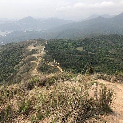 Ngong Ping (Ma On Shan)  - down below Pyramid Hill