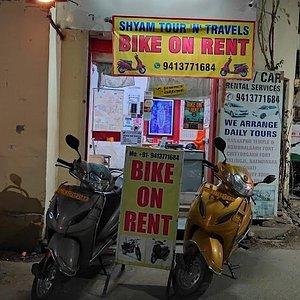 Things to do in Udaipur , bike rental