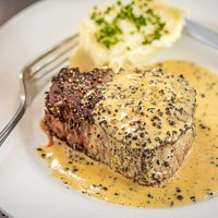 A Majestic Favorite, Filet au Poivre. Chef Reilly puts an Irish twist on ours swapping out the traditional brandy for Irish Whiskey!