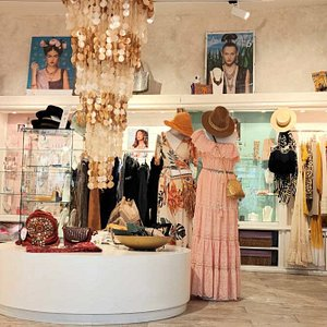 Inside Wish Boutique. Summer Clothing, Costume Jewellery & Accessories. Find us by the promenade of Bahia del Duque Beach - Costa Adeje.  Shop & visit us online at wishboutiquetenerife.com