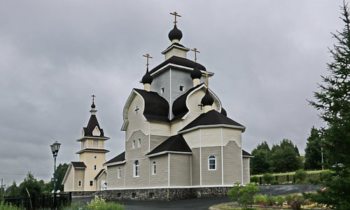 Это современный православный храм, который строился уже в XXI веке (c 2004 по 2011 года). 25 сентября 2011 г. состоялось освящение храма, чин совершил Архиепископ Петрозаводский и Карельский Мануил.