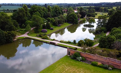 Aerial view of Markshall Estate
