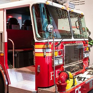 The Fire Zone is New York City's state-of-the-art fire-safety learning center. Climb on a realistic fire truck, meet a real FDNY firefighter.