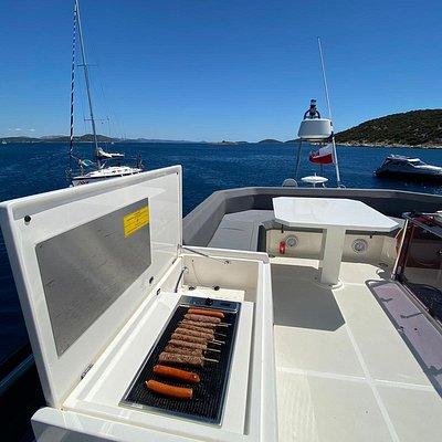 Ferretti Yachts 450 Betty - BBQ