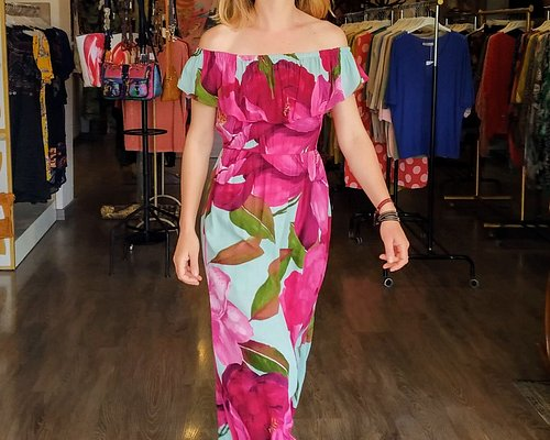 Vestido estilo mediterráneo. Mediterranean style dress.
