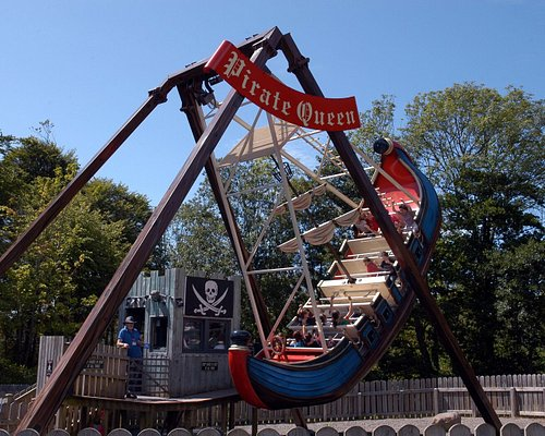 The Pirate Queen Swinging Ship at the Pirate Adventure Park on Westport House Estate