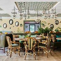 Garden Room at Mayflower Inn & Spa