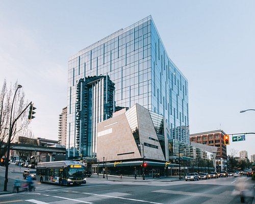 The Anvil Centre, located in the heart of Downtown New Westminster.