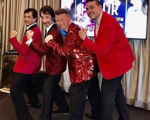 The Classic Men of Crooners, Inc; Dean, Tony, Jonny & JC!!!  #croonersinc #croonersinclasvegas