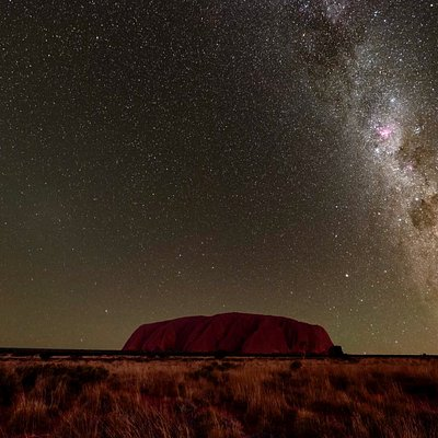 Special access to the one and only Uluru-Kata Tjuta National Park at night.