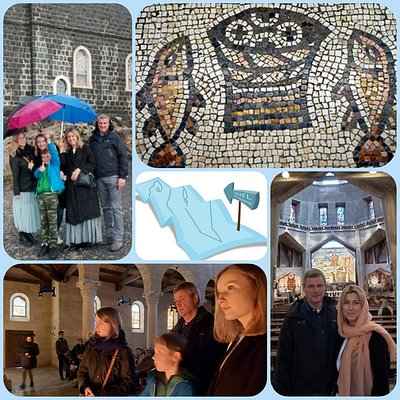 A trip following Jesus in the Galilee and the Sea of ​​Galilee