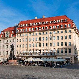 Steigenberger Hotel De Saxe, Dresden, Germany - Exterior View