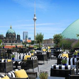 Hotel De Rome - Rooftop Terrace