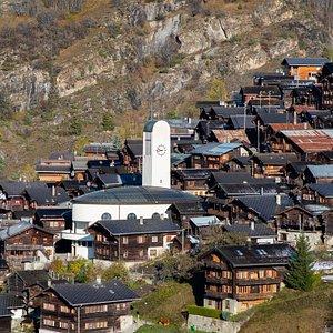 Eglise à Albinen (Valais / Wallis)