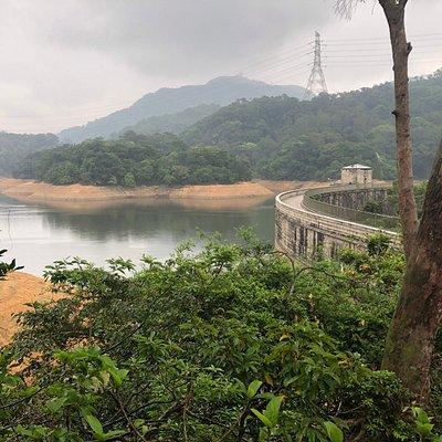 Kowloon Reservoir - seen from Golden Hill Road