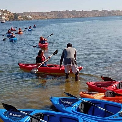 Kayaking on the Mighty Nile in the lands of gold Nubia