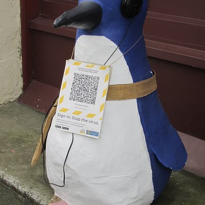 Scan a penguin today!