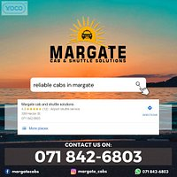 Margate Cabs Poster