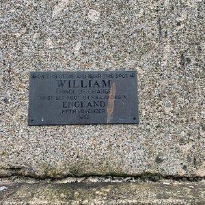 William of Orange's landing point.