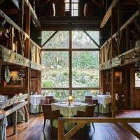 White Barn Inn Restaurant dining room