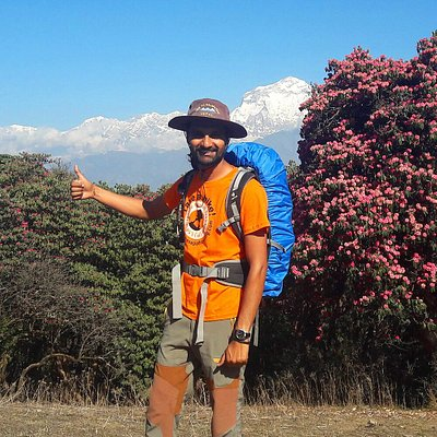 Your guide Roman Poudel