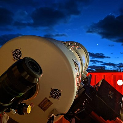 Takahashi 300 dialing in The Great Conjunction of Saturn and Jupiter