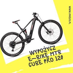 Wynajem górskich rowerów elektrycznych w Krakowie  ElektrycznyGaraz.pl www.ipaeco.pl  W ofercie posiadamy rowery elektryczne marki CUBE na podwójnym zawieszeniu ROKSHOX z powiększoną baterią 625 Wh co pozwala osiągnąć zasięg aż 120km w trybie eco oraz silnikiem BOSH-a 4 generacji.  Cena wypożyczenia: 4h =100zł 24h =250zł Inne warianty = indywidualna wycena :)  Rowery dostępne w KRAKOWIE możliwość dowozu do 100km  IPAeco- serwis & wypożyczalnia ul. Przegon 16 30-209 Kraków