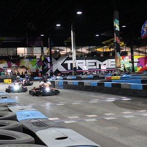 Pro Karting at Xtreme Action Park