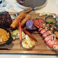 Lobster & steak (Surf n Turf)