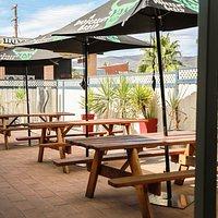 The Royal Hotel Beer Garden