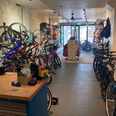 Plenty of Bikes available