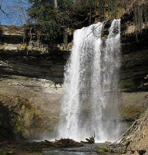 Cascade du Dard / Gorges du Nozon (Croy - canton de Vaud)