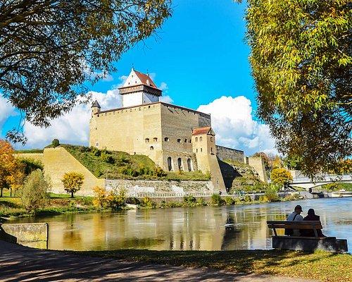 Narva castle view