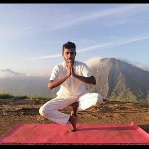 Morning Yoga....