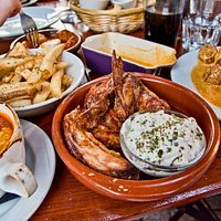 Some of the tapas we ordered