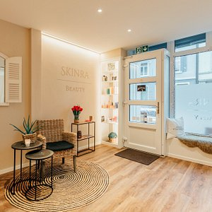 Interior of skinra.beauty SPA in Zurich Seefeld.