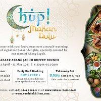 Chup Makan Dulu - Bazaar Abang Jaguh Buffet Dinner at Vasco's Hilton Kuala Lumpur