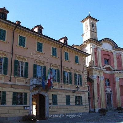 L'Oratorio di S.Giovanni Battista, e Palazzo Tornielli