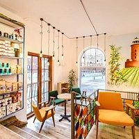 Wnętrze Kawiarni ColbergCoffee