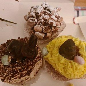 Patisseries de Pâques 2021 + Roc de Chère