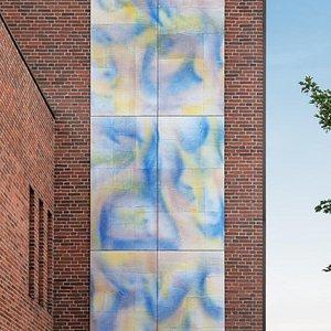 ANDERS BÜLOW The Sensual World Jernbanevej 6, 4300 Holbæk Opført som en del af Holbæk Art 2018