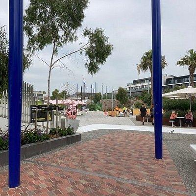 Blue Poles