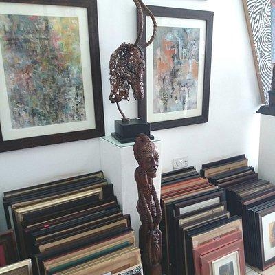 Paintings & Artworks of Henrimoweta African Art Center.