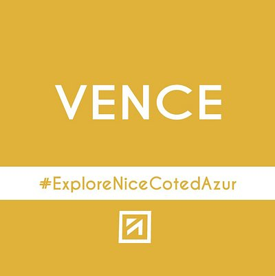 Logo  Vence #ExploreNiceCotedAzur