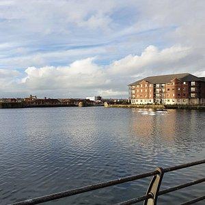 Waterloo Dock area.