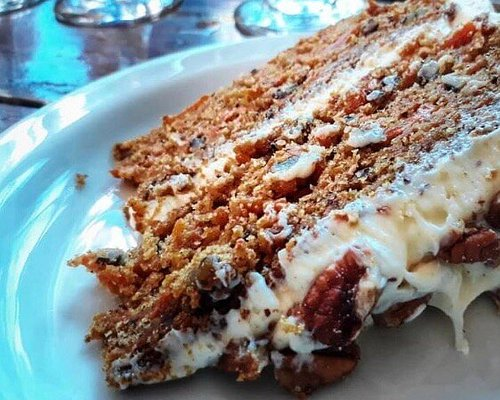 The best carrot cake by far - pop in and buy a slice - or better yet - order your own